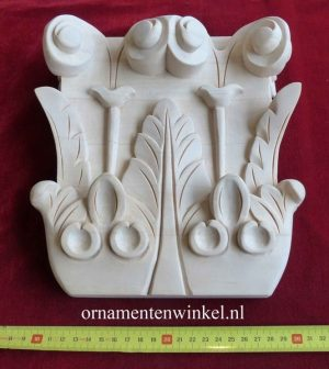 kapiteel pitaster ornament