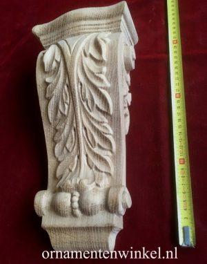 console acanthus eiken ornament 3193