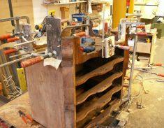 Meubel restauratie orgelgebogen