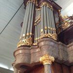 Orgel ornamenten kapiteel