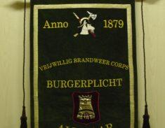 vaandel Burgerplicht brandweer Alkmaar