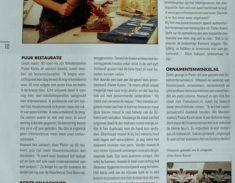 publicatie Pieter Koorn Houtsnijwerken meubelatelier