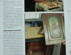 publicatie Pieter Koorn Houtsnijwerken Meubelatelier.