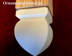 Makelaar ornament trapspil Druppelvorm