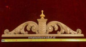 Kuif kroon met piek 3279 ornamentenwinkel.nl