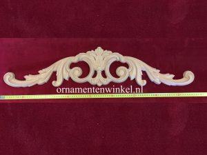 kuif ornament kastkuif